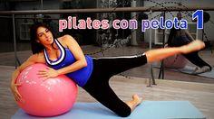 Workout de Pilates con pelota o Fitball