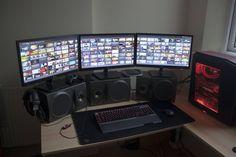 Mi idea de un excelente centro de trabajo #desktop
