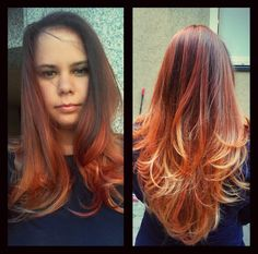 #hair #red #blonde