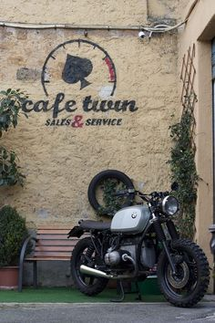 BMW caferacer airhead by Café Twin
