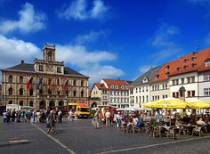 Market square in Weimar