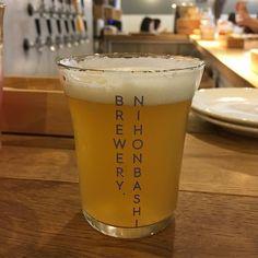 NIHONBASHI BREWERY. オリジナル ビールあります写真のビールは違います #beer #craftbeer #beerbar #tokyo