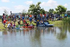 Cardboard Boat Regattas - Wow!  The Dunnegan Park would be a great place for this community wide event!