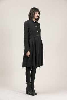 RÓISÍN WASHED LINEN JACKET-BLACK – Sisters Of The Black Moon