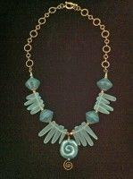 3rd Place Jamie Daggett    @antelopebeads.com #kazuri #beading #jewelry
