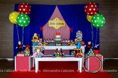 fiestas infantiles el fabuloso mundo del circo1 Fiesta de Cumpleaños inspirada en el circo