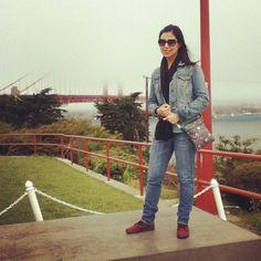 Frente a lo que se veía del #Golden Gate