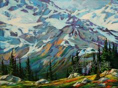 over the jumbo pass | David Langevin | The Artym Gallery