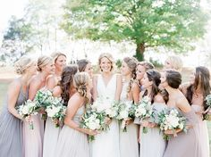 Photography : Julie Paisley Photography | Floral Design : Mint Springs Farm | Wedding Dress : The Dress Theory Read More on SMP: http://www.stylemepretty.com/little-black-book-blog/2017/02/21/rustic-romantic-tennessee-fall-wedding/