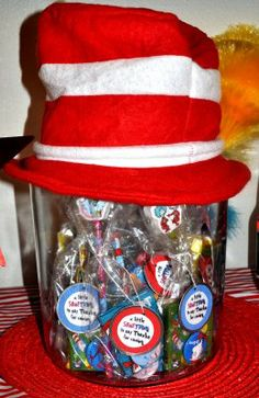 Dr. Seuss Theme Party Ideas - Baby Shower |