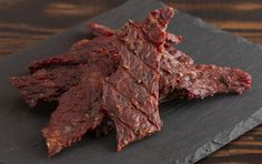 Homemade jerky is a blast to prepare in a beef jerky maker. Set out your ingredients for a delicious custom recipe and call everyone to grab a piece! Meat Dehydrator, Venison Jerky Recipe, Homemade Jerky, Making Jerky, Meat Delivery, How To Make Sausage, Sausage Making, On The Go Snacks