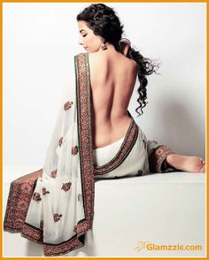 Modern Indian Sarees Get A Sexy Facelift