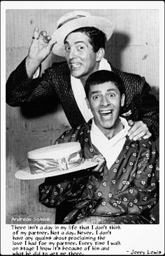 Jerry Lewis about his partner and friend, Dean Martin