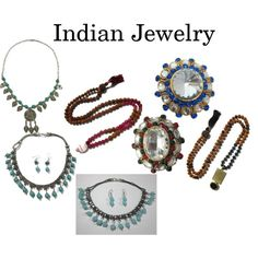 """""""Indian Jewelry"""" by mogulinteriordesigns on Polyvore"""