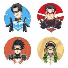 Nightwing, Batgirl, Catwoman, Batman Robin, Batman Y Superman, Robin Dc, Batman Comic Art, Batman Arkham, Robin Superhero