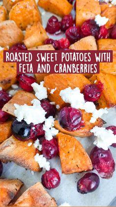 Sweet Potato Dinner, Sweet Potato Side Dish, Sweet Potato Breakfast, Breakfast Potatoes, Roasted Sweet Potatoes, Recipes With Sweet Potatoes, Healthy Potato Recipes, Vegetarian Recipes, Recipes