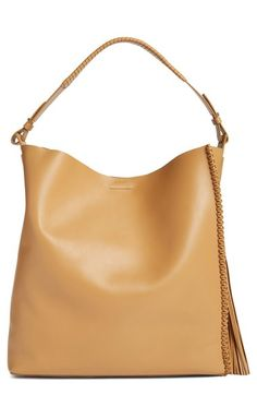 29816375dcd3 ALLSAINTS  Pearl  Leather Hobo available at  Nordstrom Allsaints Bags