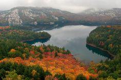 """""""Fall in the La Cloche Mountains"""" -- [Killarney Provincial Park - Ontario, Canada]~[Photograph by Scott_E_Gibson (Scott Gibson) - October 8 2007 - Ontario, Canada]'h4d'1772012"""