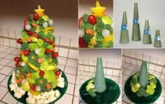 Christmas Food Decorations | Healthy Food House