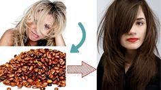Use Coffee To Dye Your Hair  -  Dying hair naturally By Coffee - Hair Ex...