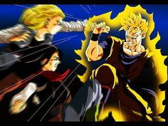 C17 AND C18 VS GOHAN - TRUNKS OF FUTURE