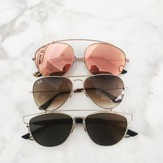 Ray...Ray...Ray-Bans... The three pairs to buy for fall and winter