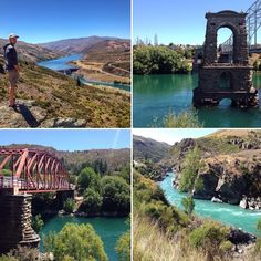 Alexandra and Clyde great places to enjoy the outdoors and appreciate the vivid colour of the Clutha River # SouthIsland #NewZealand #itsTime2Go!