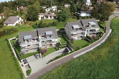 © STOMEO Visualisierungen - Zürich   www.stomeo.ch Mansions, House Styles, Home, Birds Eye View, Architecture Visualization, New Construction, Real Estates, Floor Layout, Fancy Houses