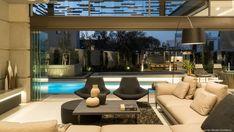 Forest Road Home, von Nico van der Meulen Architects, Inanda, Südafrika Loft, House Wall Design, Glass Pavilion, Forest Road, Eco Friendly House, Pool Houses, Lanai, My Dream Home, Elegant