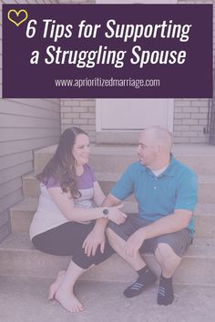 6 Tips for Supporting Your Struggling Spouse {World Mental Health Day} - A Prioritized Marriage Marriage Goals, Happy Marriage, Marriage Advice, Love And Marriage, Dating Advice, Strong Relationship, Relationships Love, Healthy Relationships, Relationship Advice