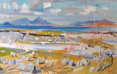 The Inner Hebrides from Portuairk by John Cunningham