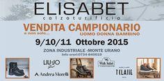 Special event! #shoes #fw1516 Vendita Campionario dal 9 all'11 ottobre presso la nostra sede! VI ASPETTIAMO! #andremorelli #walksafari #liujo #alvieromartini