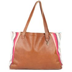 Tulum Tosh Tote in Brown Leather