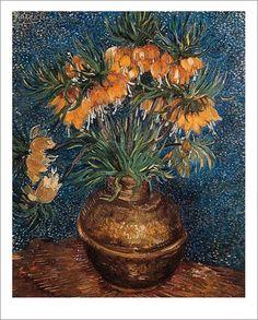 Neben Schwertlilien, die als Symbol für Kreativität und Energie stehen, hatte Van Gogh auch eine Vorliebe für Sonnenblumen. Sie sind ein Zeichen für Lebensfreude und sind auf vielen Kunstdrucken zu finden.