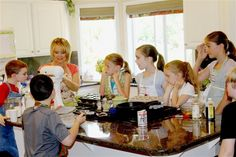 Kid's Cooking Class Recap - your homebased mom #summer #kids #cooking
