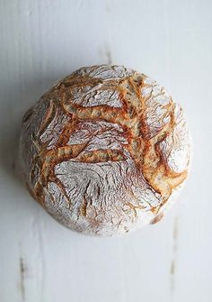 Bread should be light and fluffy on the inside with a beautiful hard crust on the outside. Learn How to Make a Homemade Artisan Country Loaf Bread Recipe that you can be proud of. Be sure to give yourself enough time as this country loaf recipe takes about 6 hours from start to finish to complete.