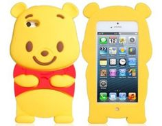 Amazon.com: Tanboo 3D Bear Protective Case for iPhone 5 (Yellow): Electronics