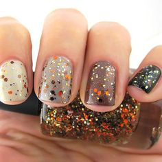 Turkeys, Pilgrims, and fall foliage looks a whole lot cooler when it's on your nails.