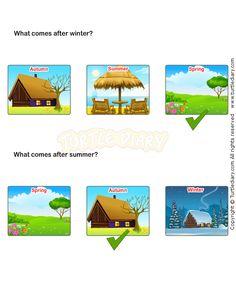 Seasons Worksheet 18 - science Worksheets - kindergarten Worksheets