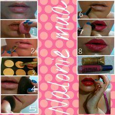 Lip tutorial #makeup #beauty #lipstick #lips #pictorial