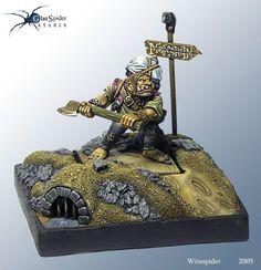 Mordheim Ogre Bodyguard by Wirespider