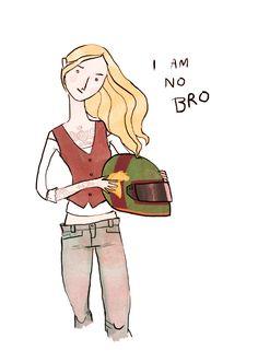 Eowyn's no bro.