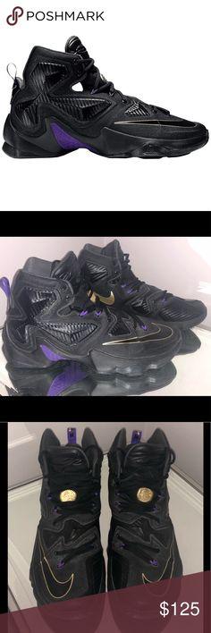 hot sale online f1fe6 90873 LeBron 13  Pot of Gold  US size 10.5 Nike LeBron 13  Pot of