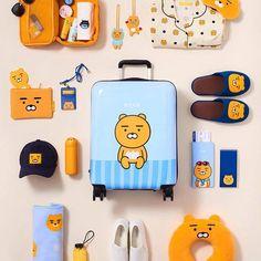 kakao friends_ RYAN Ryan Bear, Kakao Ryan, Apeach Kakao, Kakao Friends, Korean Products, Korean Aesthetic, Cute Makeup, Beauty Makeup, Kawaii Shop