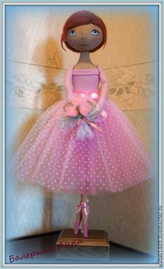Куклы тыквоголовки ручной работы. Ярмарка Мастеров - ручная работа Кукла-тыквоголовка балерина Анна. Handmade.