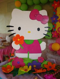 Bellisima, Hello Kitty, Fictional Characters, Art, Party, Art Background, Kunst, Performing Arts, Fantasy Characters