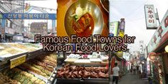 Love Korean Food? Visit These Food Towns & Streets in Seoul!