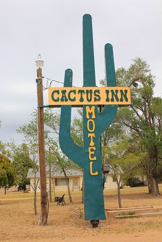 Cactus Inn motel, Route 66