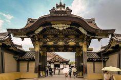 Kyoto. Japan. Kyoto Castle. Nijo Jo Inner Gate