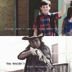 Hahah the old Carl is so generic